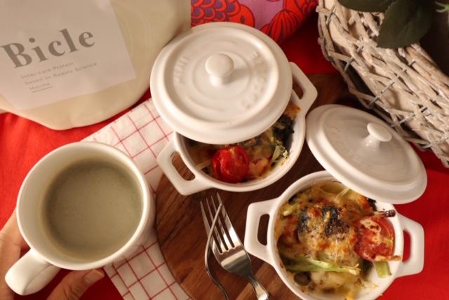 燃費の良い体を作り、冬太り回避!「サバ缶とトマトのチーズグラタン風」