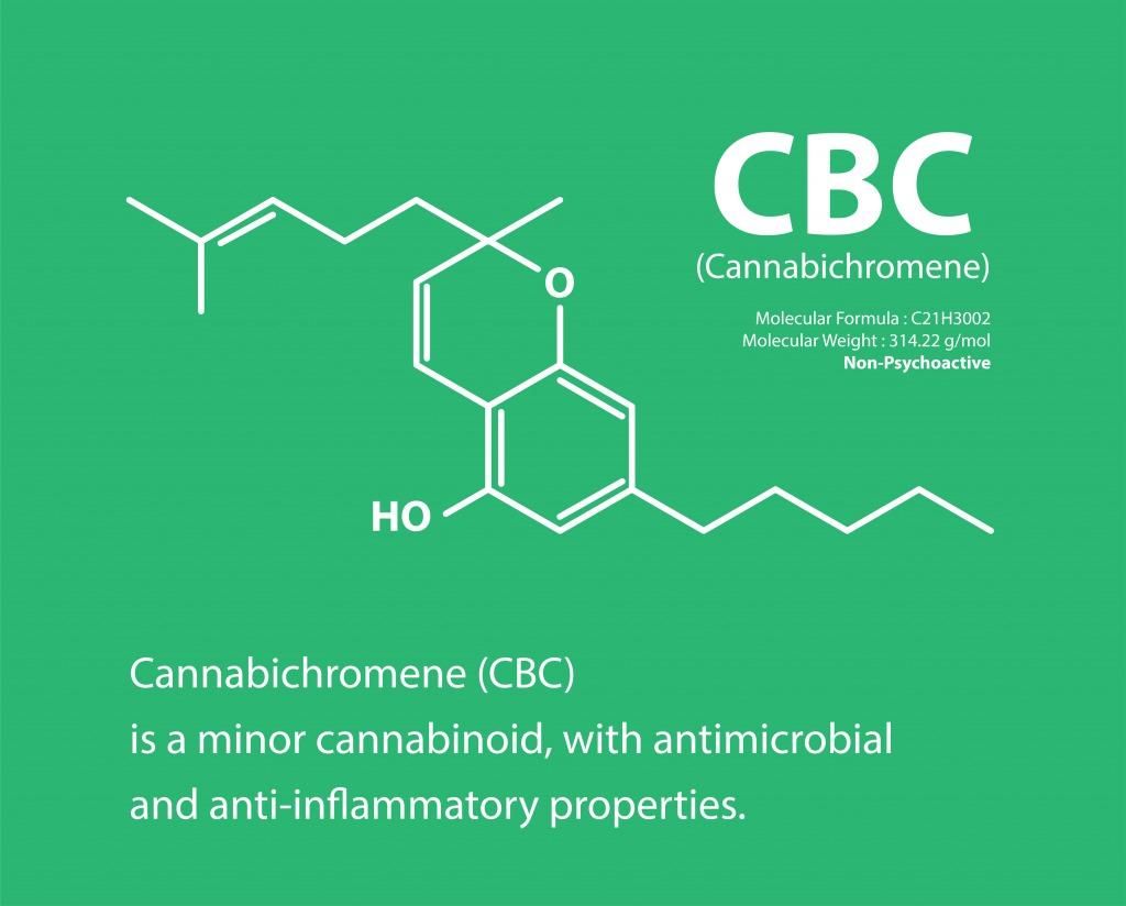 CBC(カンナビクロメン)とはーCBDとの違いは?【ヘンプ由来のカンナビノイド】